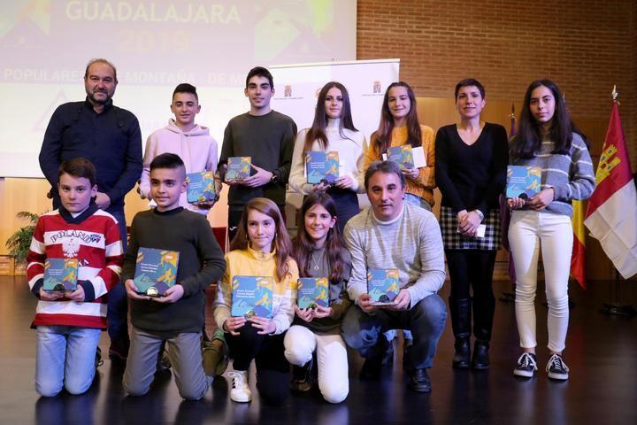 Destacada presencia de las Escuelas Deportivas Municipales de Sigüenza en la gala del Circuito Recorre Guadalajara