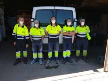 Comienzan su labor en Sigüenza cinco nuevos trabajadores del Plan de Empleo