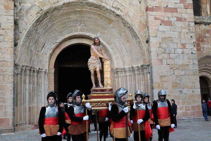 Procesión Lunes Santo en Sigüenza. Foto : EDUARDO BONILLA (Archivo)