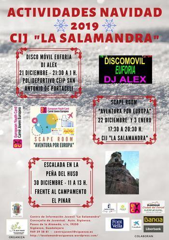 'La Salamandra' completa el ocio navideño seguntino para los más jóvenes