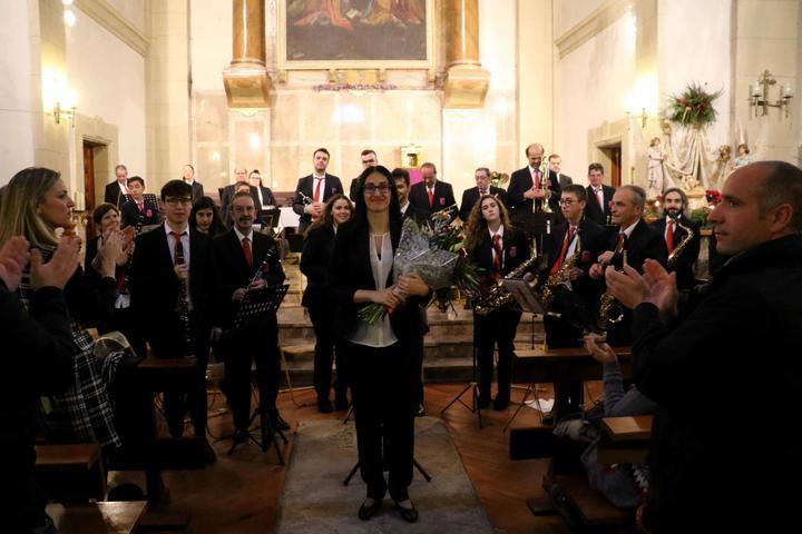 Silvia Puertas ha pregonado la Navidad de Sigüenza