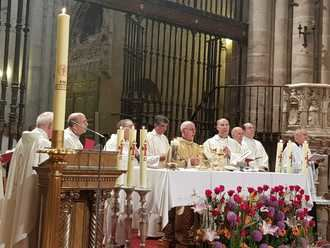 El obispo de la diócesis de Sigüeza-Guadalajara dispensa de ir a misa este domingo por el coronavirus