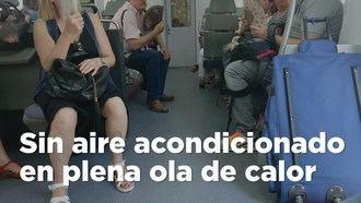 Decenas de reclamaciones por un tren de Renfe que circuló de Albacete a Córdoba...SIN aire acondicionado
