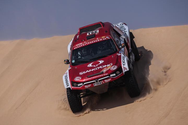 SsangYong ya acaricia la meta del Dakar