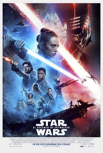 El último capítulo de la tercera trilogía : Star Wars, el ascenso de Skywalker