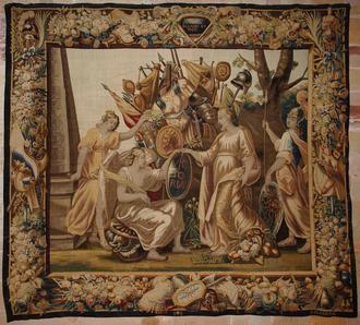 LETRAS VIVAS SEGUNTINAS : La colección de tapices flamencos de la catedral de Sigüenza