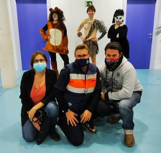 El Centro Cultural de Yunquera de Henares acogió la representación de la obra 'El Libro de la Selva: Contra la Violencia'