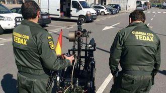 Los TEDAX detonan la granada encontrada en la estación del AVE de Cuenca