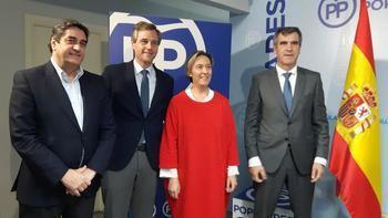 El vicesecretario de Política Territorial del PP participa en Guadalajara en la reunión del Comité de Campaña del partido