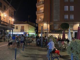 'Terraceando' volvió a llenar de música y buen ambiente la noche de Yunquera de Henares