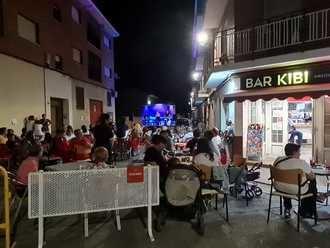 La iniciativa 'Terraceando' llena la primera de las terrazas de los establecimientos hosteleros de Yunquera de Henares