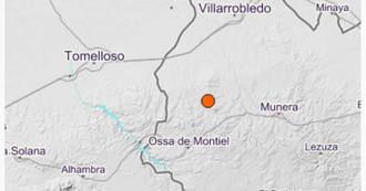 Registrados este lunes dos nuevos terremotos en la provincia de Albacete