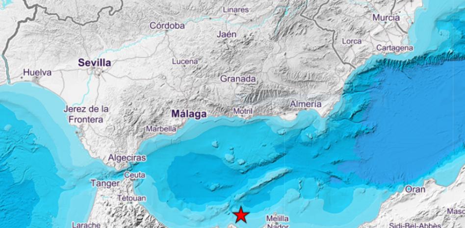 Un terremoto de 4.9 grados se deja sentir en Melilla, Málaga, Granada y Almería