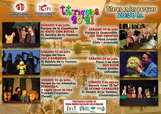 El festival Titiriqueca se despide con 'El último caballero' en el Espacio Joven Europeo de Azuqueca