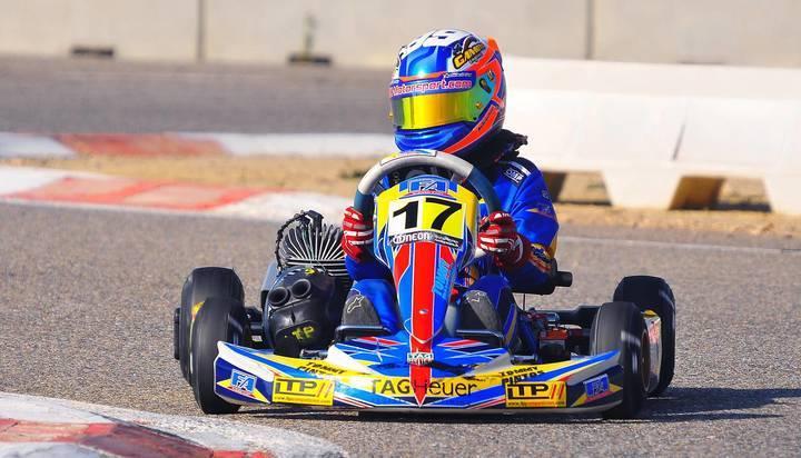 El cabanillero Tommy Pintos se proclama campeón de Cataluña de karts