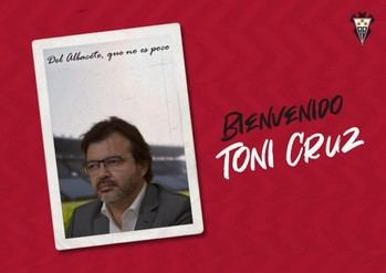 Toni Cruz, nuevo director deportivo del Albacete en sustitución de Mauro Pérez
