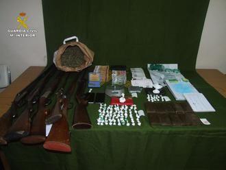 La Guardia Civil desarticula un punto de venta de drogas en la localidad de Casas de Haro