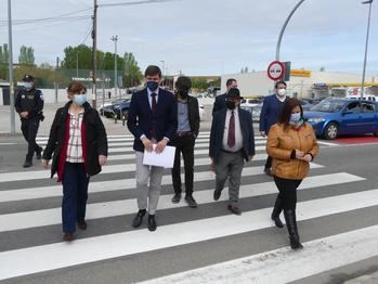 La travesía de Torrejón del Rey estrena un proyecto piloto de calmado de tráfico diseñado por la DGT