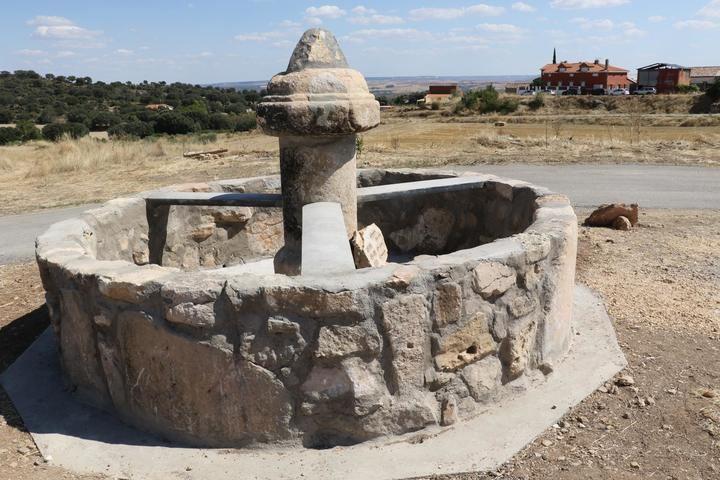 Se recupera la antigua fuente de Torrebeleña