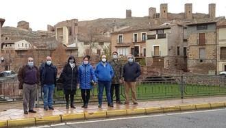El diputado provincial Daniel Touset visita el Museo de Molina y se reúne con los gestores del Geoparque de la UNESCO Molina-Alto Tajo