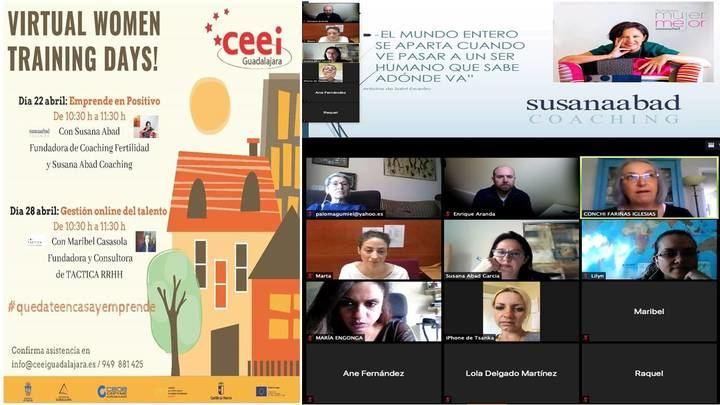 """Emprender en positivo"", primer virtual women training days del CEEI Guadalajara"