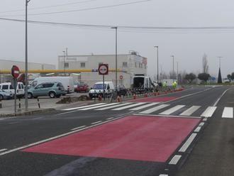 La DGT aplica un proyecto piloto de calmado del tráfico en la travesía de Torrejón del Rey