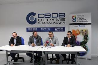 La Federación de Turismo y Hosteleria de Guadalajara presenta los cursos