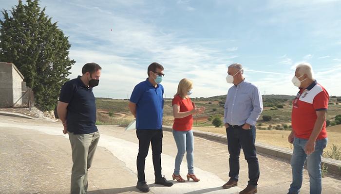 La Diputación renueva 470 metros de tuberías de agua en Fuentenovilla