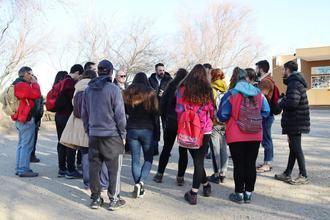 Estudiantes del grado Ciencias Ambientales de la Universidad de Alcalá visitan la Reserva Ornitológica Municipal