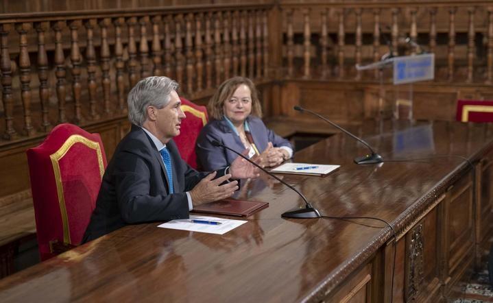 Primeros pasos de la Universidad de Alcalá y el CSIC para la creación de un instituto mixto de investigación en Química