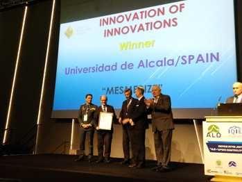 El sistema 'Mesmerise', coordinado por la Universidad de Alcalá, recibe el Quality Innovation Award (QIA) en la categoría de Innovación en el sector público