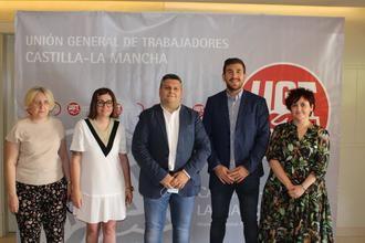 Luis Manuel Monforte, elegido nuevo secretario general de UGT Castilla-La Mancha