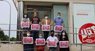 UGT CLM critica la falta de voluntad de la Junta de Page para continuar con la mejora de las condiciones laborales de los profesionales de la Sanidad