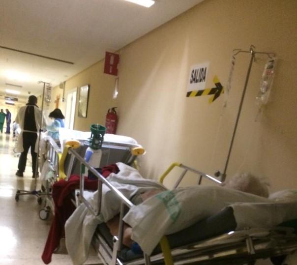 """Hasta OCHO sindicatos (FESP-UGT, CCOO, USICAM, USAE, CEMS, SIMAP-CLM TOLEDO, CSIF y SATSE) denuncian la """"SITUACIÓN INSOSTENIBLE e INDIGNA"""" de las Urgencias del Hospital de Toledo... la Junta de Page ni les recibe"""