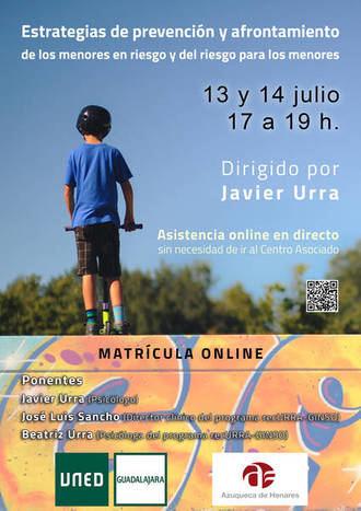La UNED y el Ayuntamiento de Azuqueca organizan un curso con Javier Urra sobre menores, dirigido a profesionales de la educación y las familias