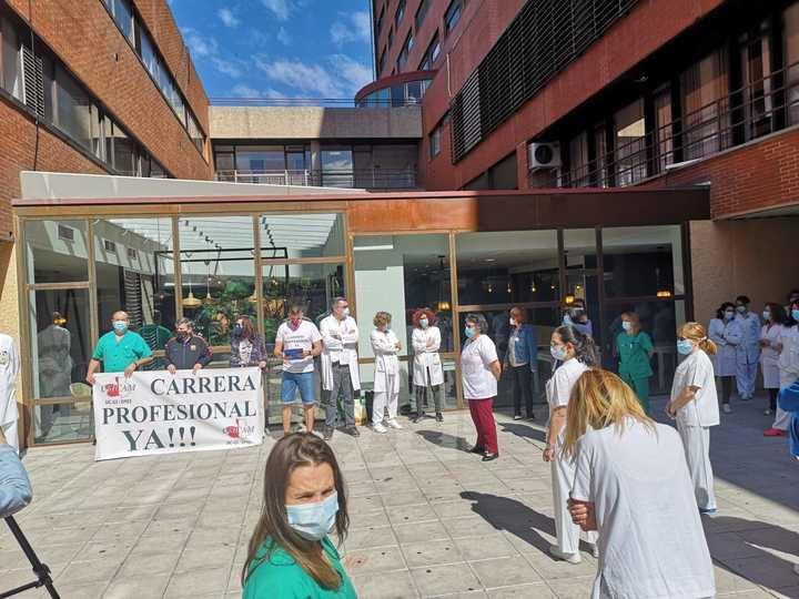 Exigen, en Guadalajara, a Page que CUMPLA con su compromiso ELECTORAL de devolver la Carrera profesional a los trabajadores del SESCAM