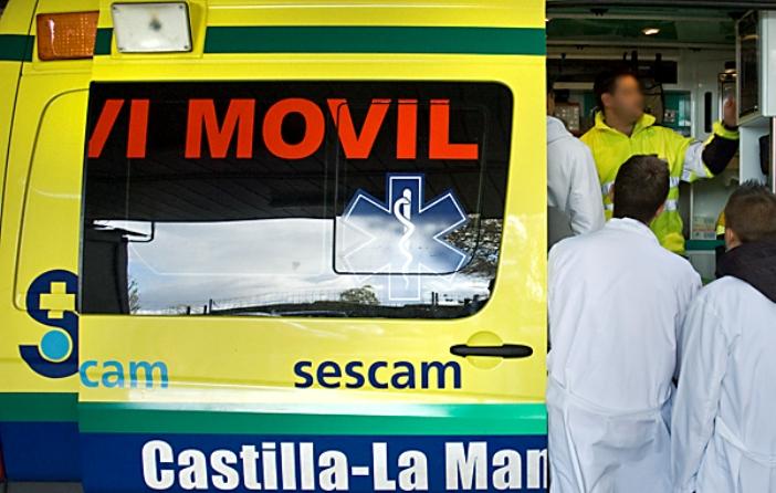 IU de Azuqueca apoya la movilización de los trabajadores del transporte sanitario