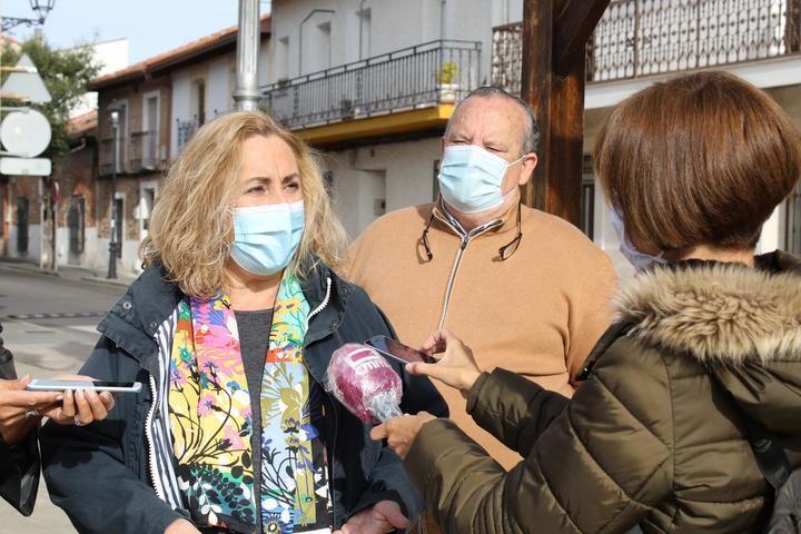 Silvia Valmaña insiste desde El Casar en la necesidad de consensuar una Ley que dé respuesta al problema de la okupación ilegal