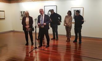 El presidente de la Diputación inauguró la exposición con los Premios Provincia de Guadalajara 2019 de dibujo y fotografía