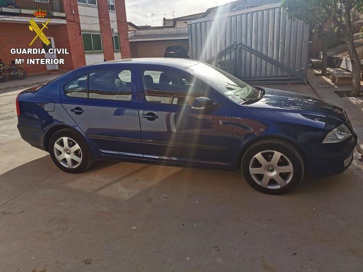 La Guardia Civil recupera un vehículo robado en Madrid tras una compraventa fraudulenta realizada en Consuegra