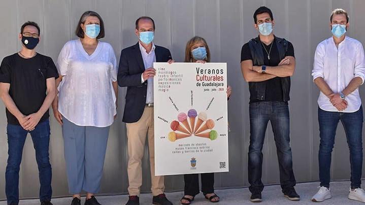 Los 'Veranos Culturales' traerán música, cine, teatro, magia y monólogos gratuitos a Guadalajara
