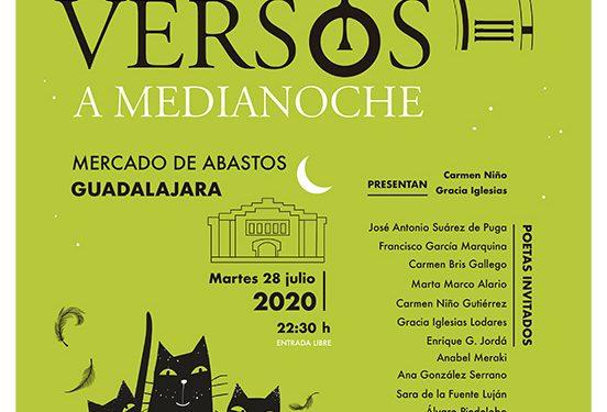 """Una nueva y renovada edición de """"Versos a medianoche"""" llega este martes al Mercado de Abastos de Guadalajara"""