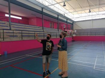 El Ayuntamiento de Villanueva de la Torre acomete una reforma integral de su pabellón polideportivo municipal