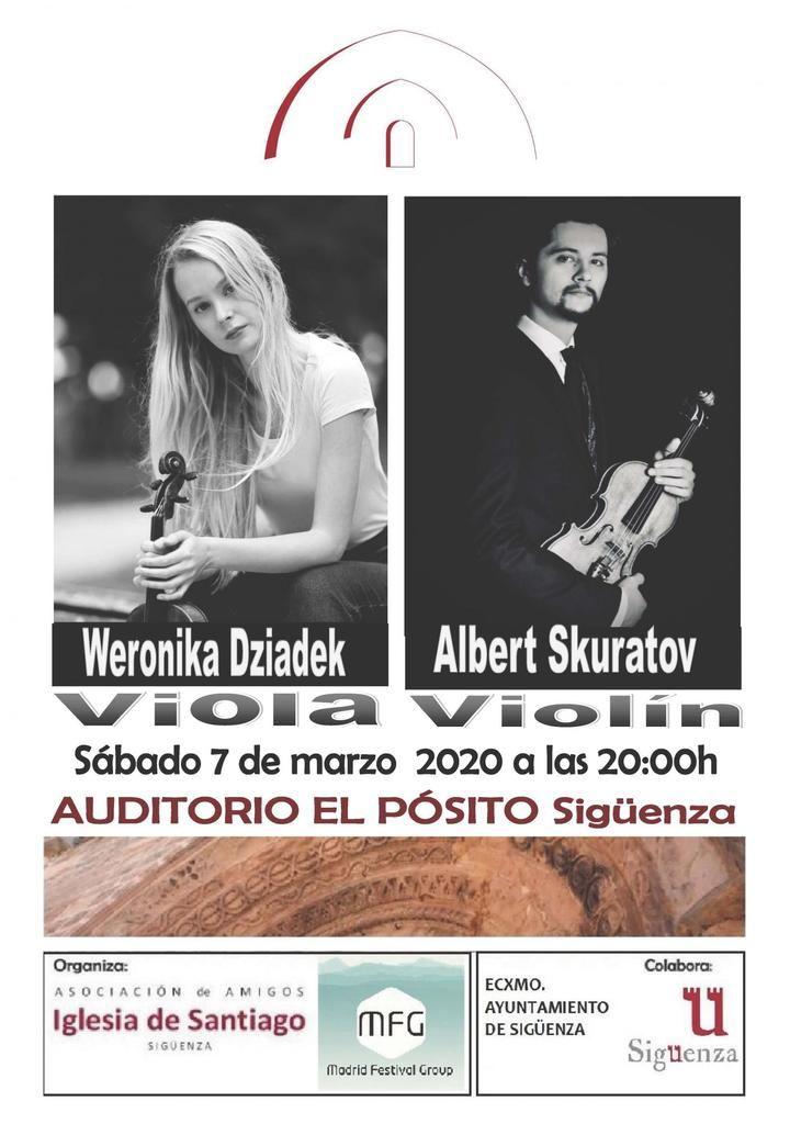 Primer concierto de la temporada de la Asociación de Amigos de la Iglesia de Santiago de Sigüenza