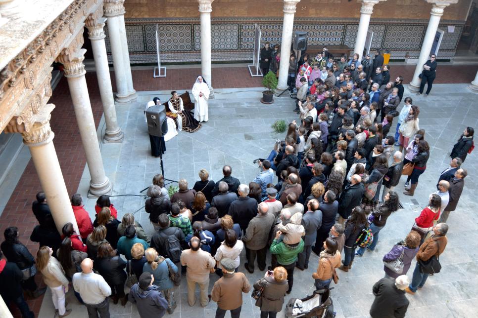 Este sábado arrancan las visitas teatralizadas por los monumentos en los que se representa el Tenorio Mendocino