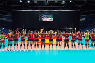 La Selección Española Absoluta Femenina de Voleibol se concentra en Azuqueca del 12 al 17 de abril