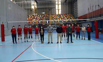Comienza en Azuqueca la concentración de la Selección Española Absoluta Femenina de Voleibol