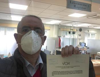 VOX enmienda la totalidad de los presupuestos de Cabanillas por despilfarrar SIN reducir impuestos