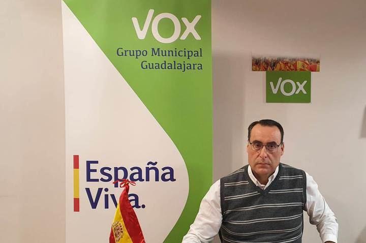 """VOX denuncia que la Intervención municipal del Ayuntamiento de Guadalajara """"trabaja bajo presiones políticas de PSOE y Ciudadanos"""""""