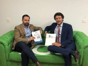 Santiago Abascal presentará las candidaturas de Vox Guadalajara que encabezan Ángel López Maraver y Antonio de Miguel el viernes 11 en un gran acto en el Teatro Buero Vallejo